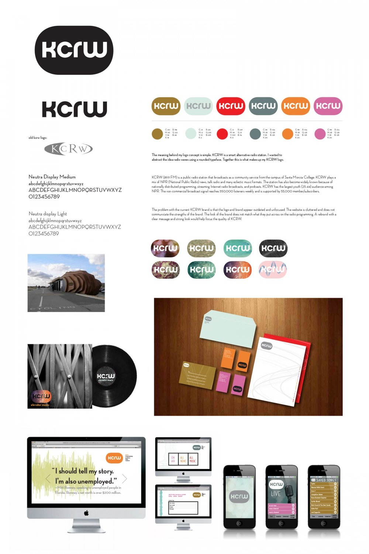 KCRW—Rebrand  Lyndsey Holmes