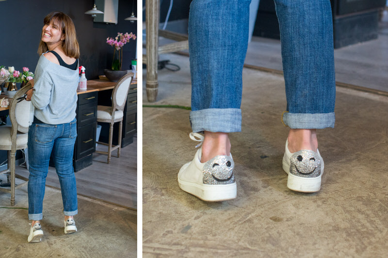 The key to having a good day is wearing shoes that match your mood.   Photographs by Lydia Carmichael/The Thirty-One Percent