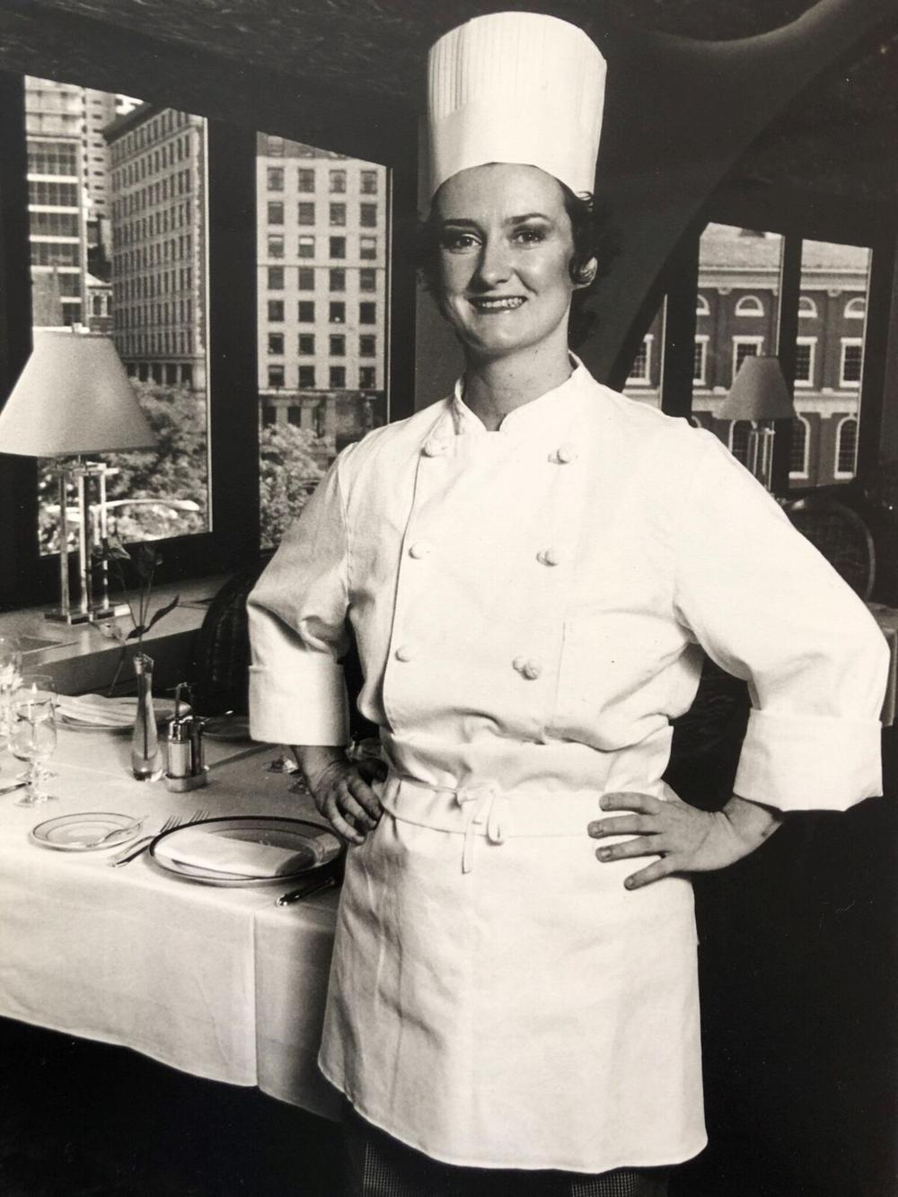 Lydia at the Bostonian Hotel   Photograph courtesy of Lydia Shire