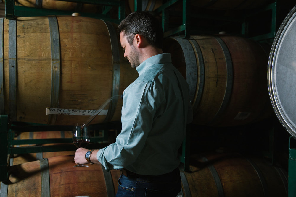 Director of Winemaking, Michael Kennedy