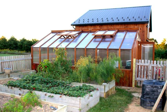 Go-Green Style - Our most energy-efficient greenhouse kit.