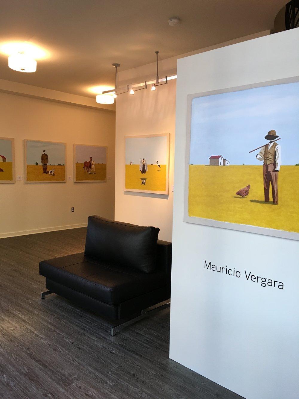 Mauricio Vergara Solo Exhibition and Seattle location Inaugural Exhibition April 2017