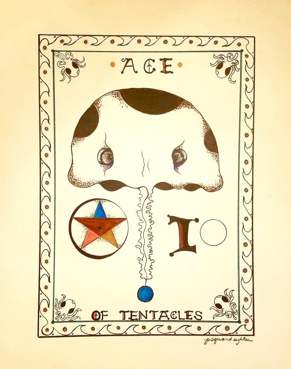 DAVID NICOLATO , Ace of Pentacles