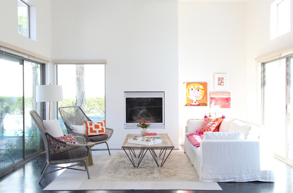 U201cThis Palm Springs Desert Home Rejects The Typical Mid Century Modern  Cliches In Favour Of A Natural And Relaxed Decor, Incorporating Colours
