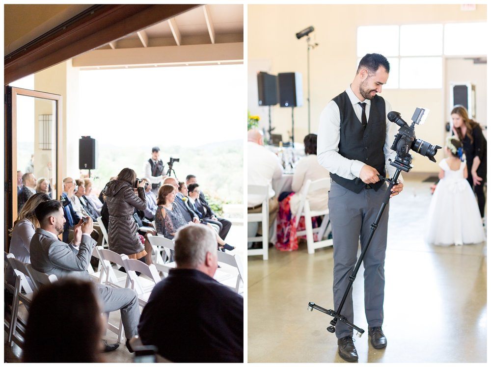 husband and wife wedding videographer team located in Chico California