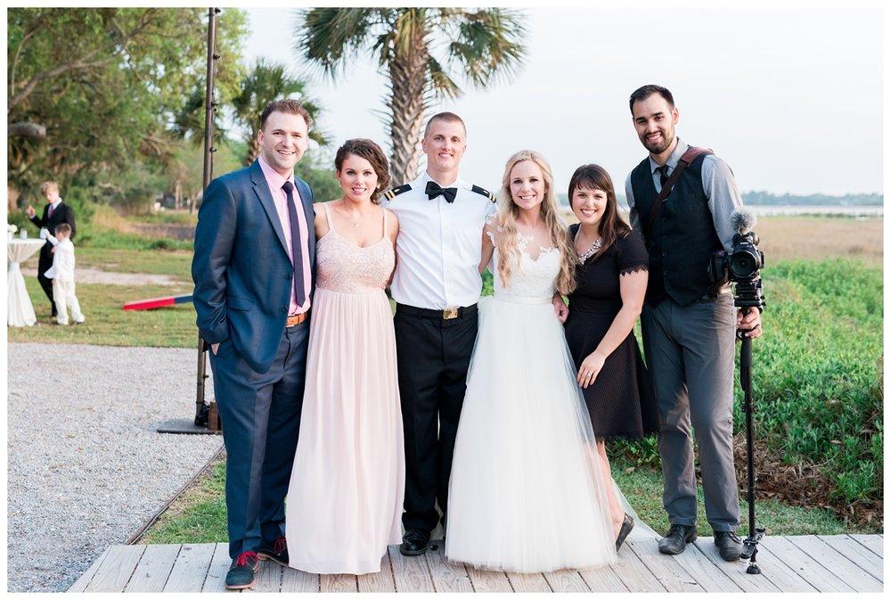 Destination Charleston Wedding photographers and videographers