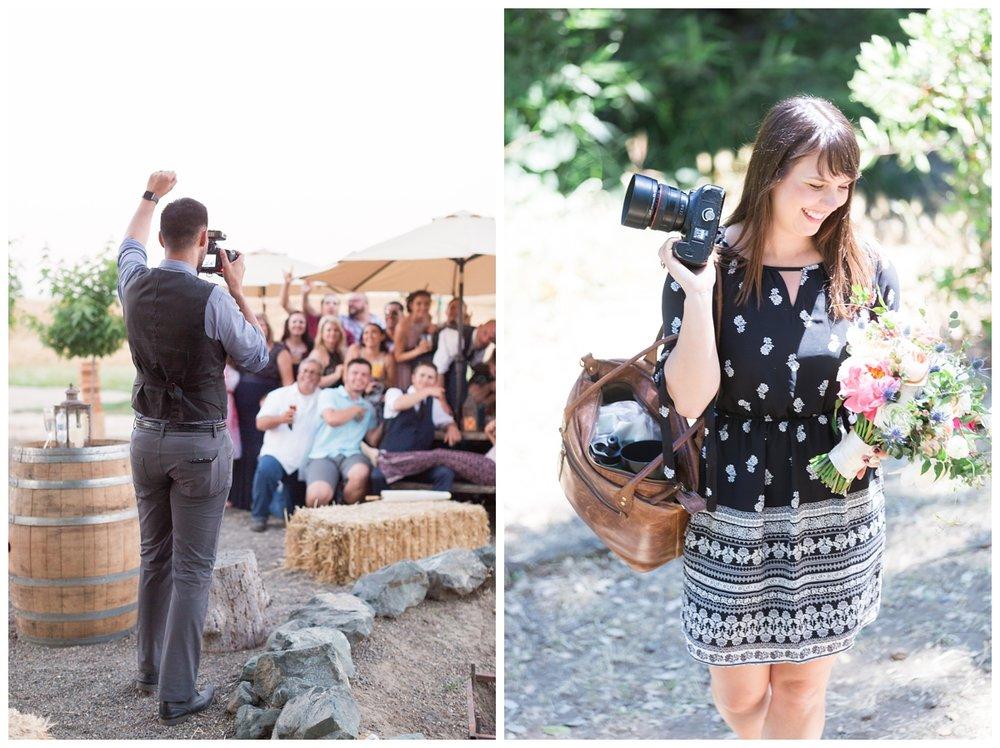 Destination Napa wedding photographers who shoot film