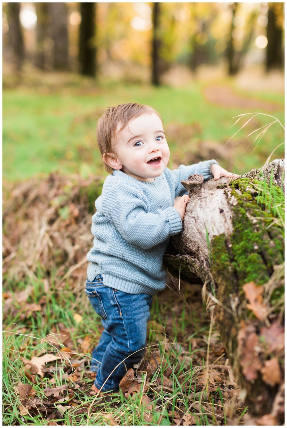little boy turns one and has his birthday photos taken
