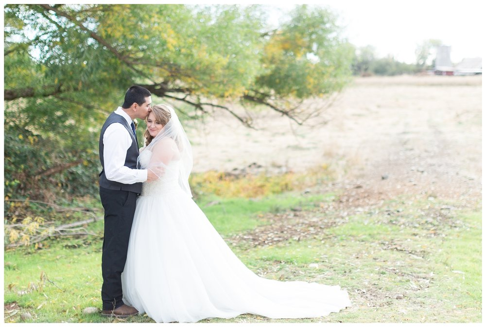 destination wedding photographer captures couple together on their wedding day at a Private Estate in Northern California