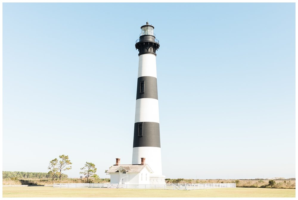 Bodie lighthouse memorial foundation in North Carolina