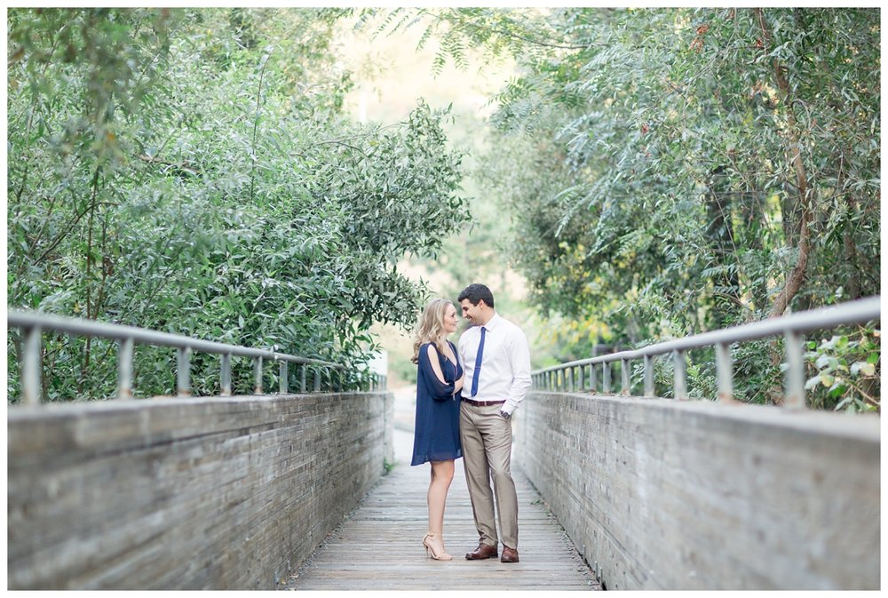 J.Crew mens navy suite worn to an engagement photo session