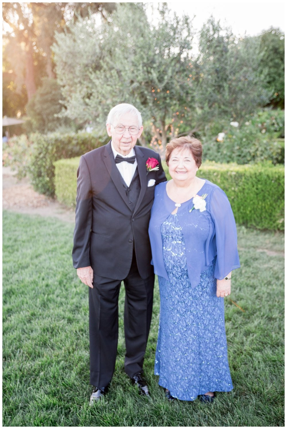 bride and grooms grandparents who have been married for over 60 years