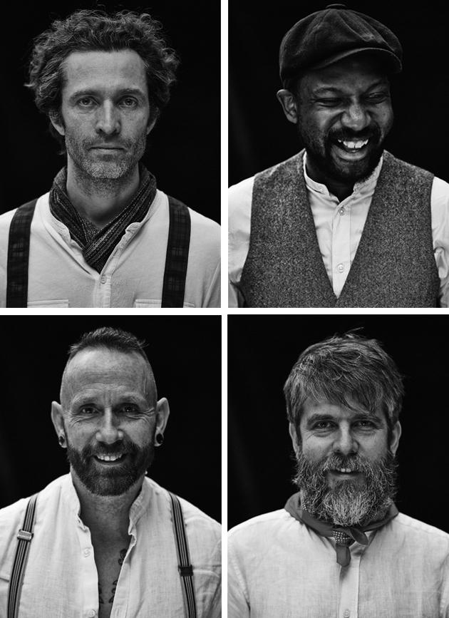 Russell, Anthony, Chris & Jon