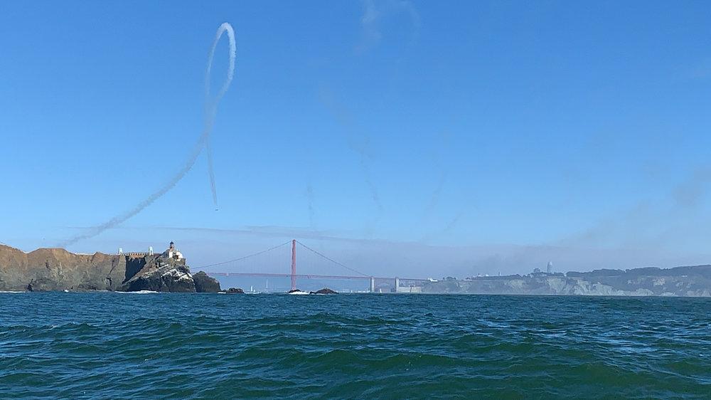 Approaching the Golden Gate