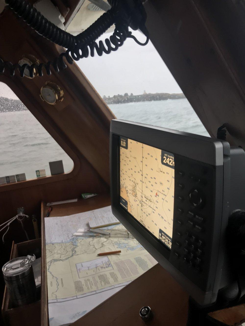 Tatoosh Island to port -