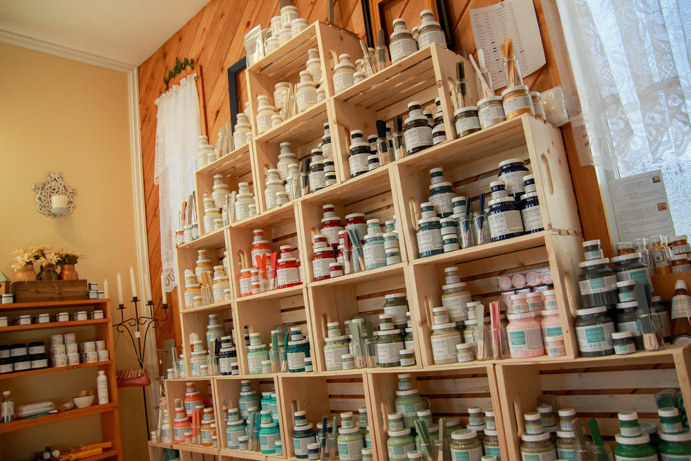 Fusion Mineral Paints at House of Hope Vanderhoof