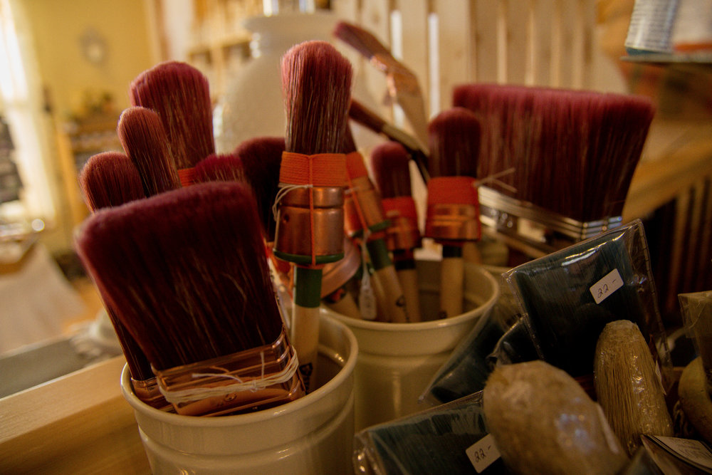 Fusion Mineral and other paint brushes available