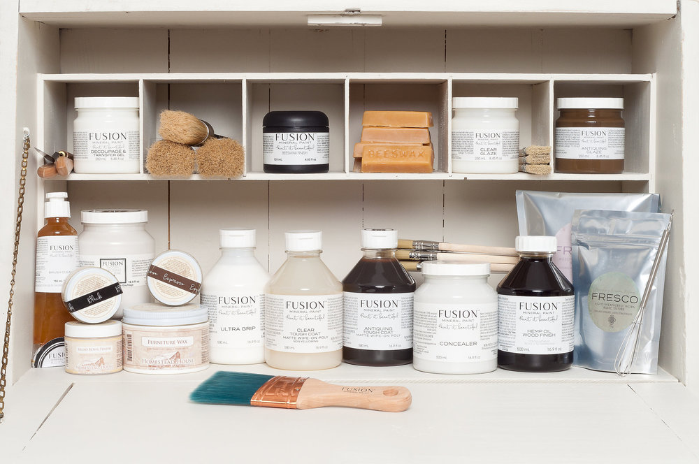 We carry a wide range of Fusion Mineral Products
