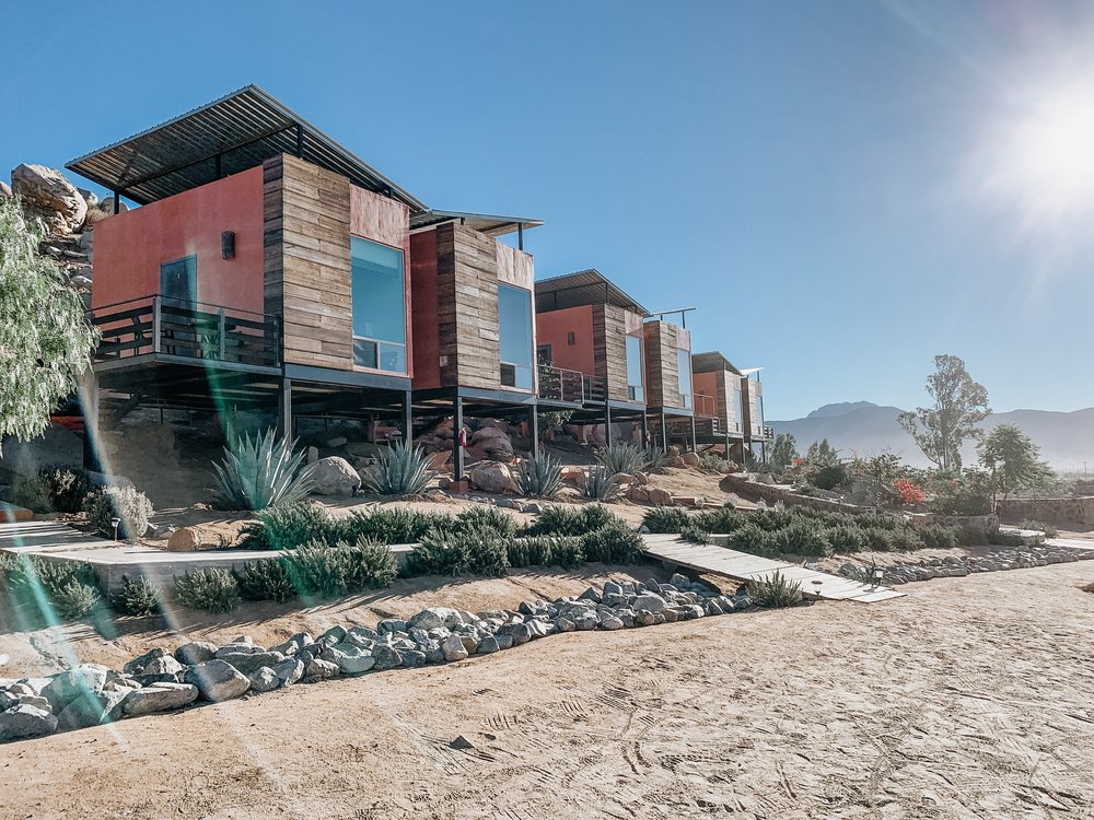 Our Airbnb in Valle de Guadalupe.