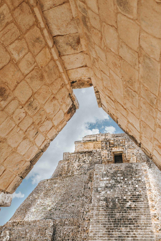 Ruins in Uxmal