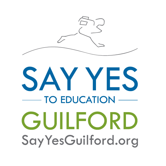 Say Yes to Education Guilford was formally announced on September 17, 2015. Guilford County vied with more than two dozen mid-sized cities and counties throughout the United States to become the next community partner of Say Yes to Education, Inc., a national nonprofit based in New York. Say Yes to Education Guilford seeks to help Guilford County Schools system students get the support they need to graduate from high school and be ready for post-secondary success. This support starts with the youngest learners and continues until students graduate from college or post-secondary programs. In addition, the program provides last-dollar tuition scholarships to Guilford County Schools graduates so they can afford to complete college or a postsecondary certificate.  As the program takes shape, Say Yes to Education Guilford will bring to a common table every major stakeholder in Guilford County with an interest in education, including representatives from throughout the Guilford County Schools, parents, students, government officials, labor and business leaders, philanthropists and faith-based organizations.  For more information, please visit  www.sayyesguilford.org  and follow us on Facebook and Twitter.