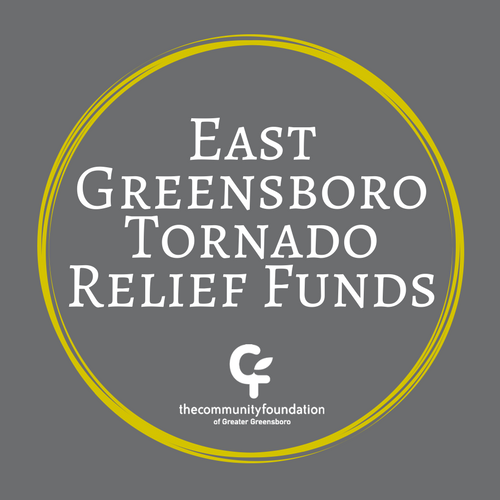 Click here to donate to the East Greensboro Tornado Relief Fund