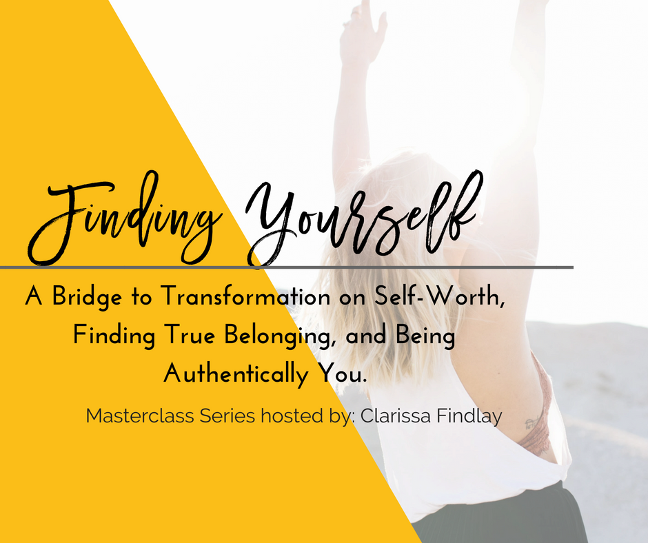 FINDING YOURSELF MASTERCLASS