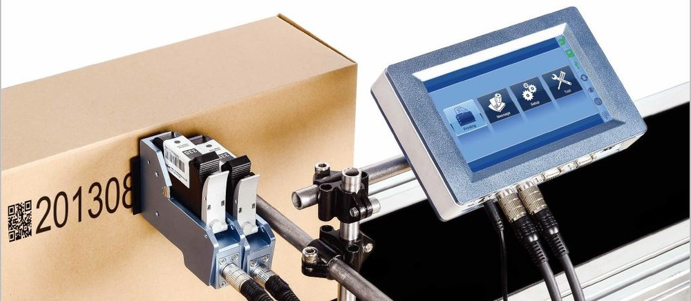 Sojet's Elfin II printer - featuring an easy-to-use, touch screen controller