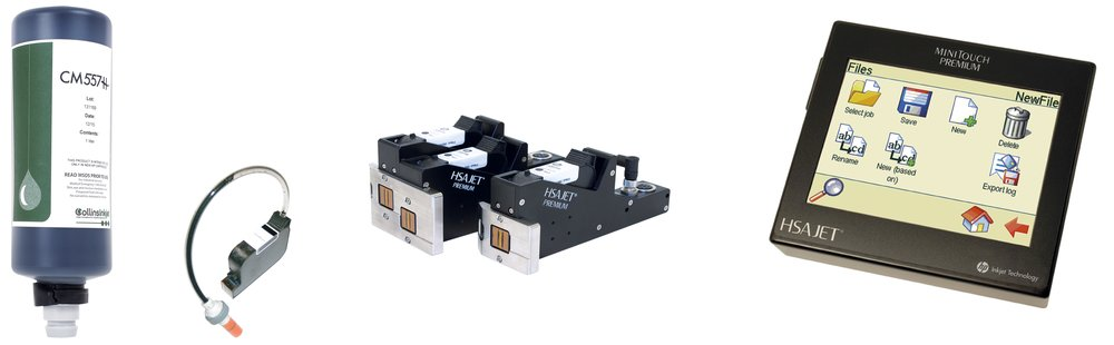HSA's bulk ink system, which includes a bulk ink supply, cartridge, print head and controller