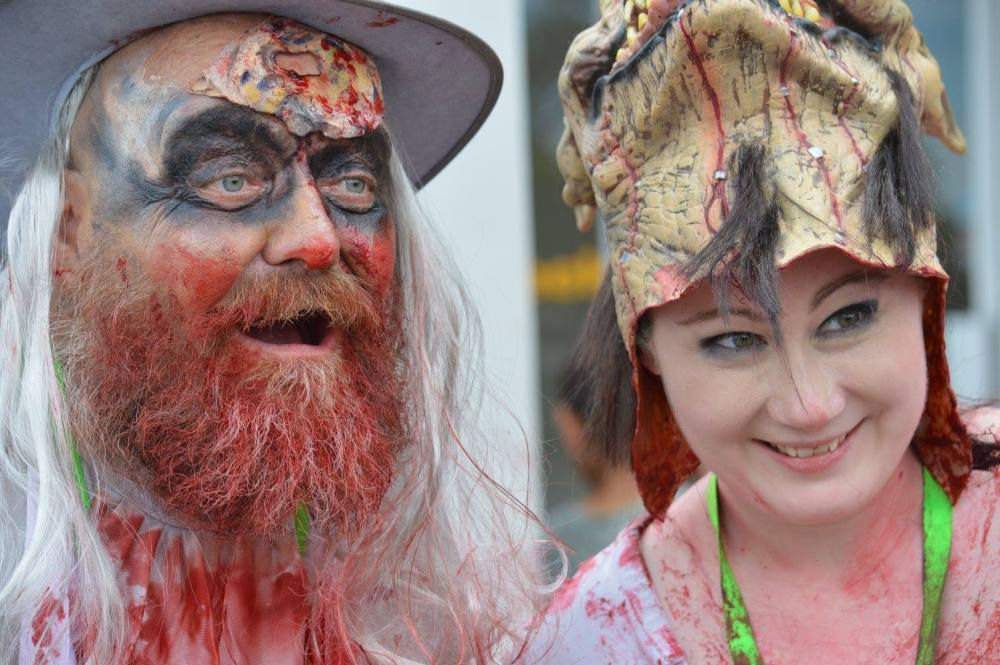 AWorger Cosplay in the Whyalla Zombie Walk, photo by Gail Rostig.