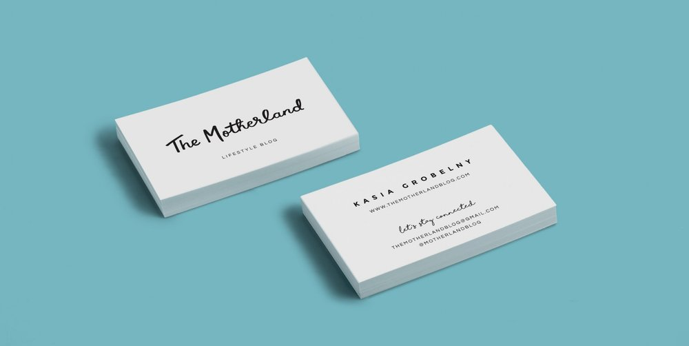 The Motherland Logo + Cards