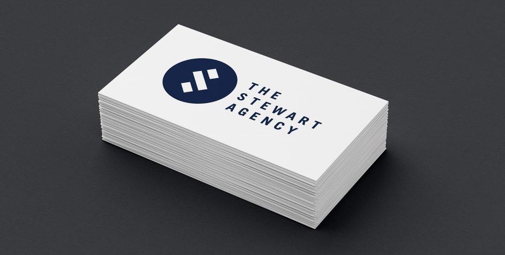 The Stewart Agency Logo