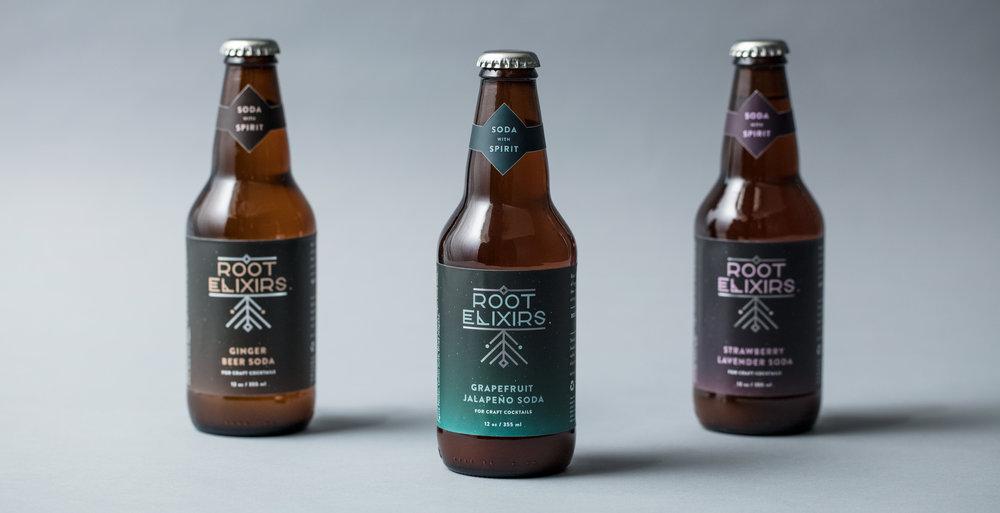 Root Elixirs Branding