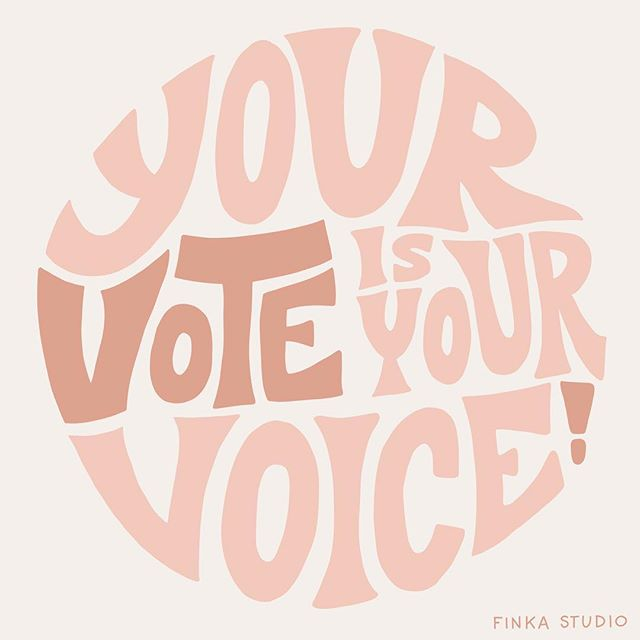 Today's the day! Get out and vote and let's turn this ship around! 🤞🏼 (FYI, still learning Procreate - the lack of bezier curve accuracy drives me a little crazy but I mostly love it!)