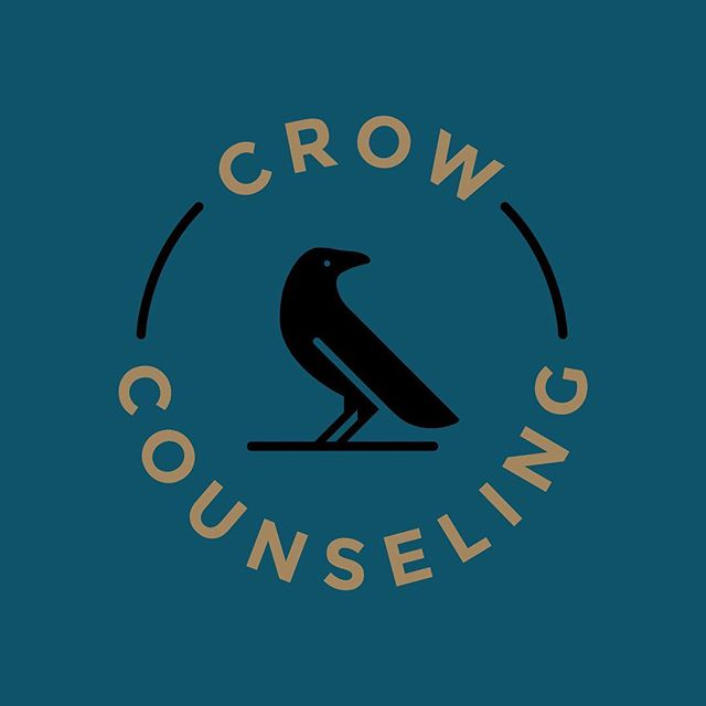 Recently, I did a branding package for Kim of Crow Counseling (@crowcounseling), who is a local therapist starting a private practice. She was lovely to work with and I'm thrilled with our result! It captures a little of the curiosity of crows, feels modern, and is professional enough for a serious field without being too stuffy.  Swipe to see another logo iteration, the crow icon, and color palette.