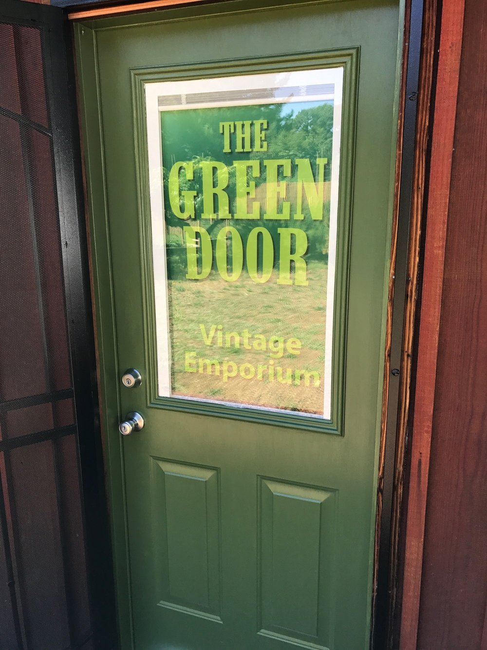 The Green Door Vintage Emporium