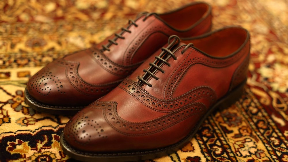 Allen Edmonds McAllister  in oxblood