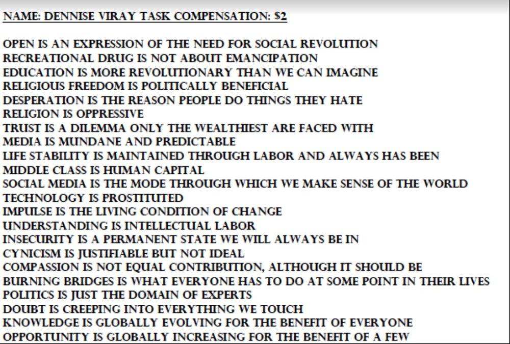 A Profitable Manifesto