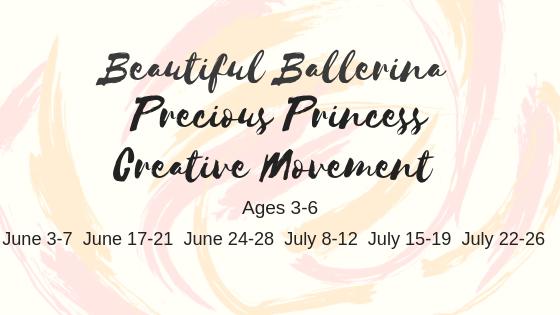 2019 Precious Princess Dance Camp Banner.png
