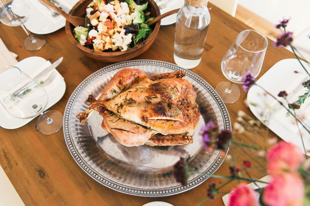 Herb Roasted Chicken breasts   Features: Gluten-free / Pastured / Ethically raised / Sustainable