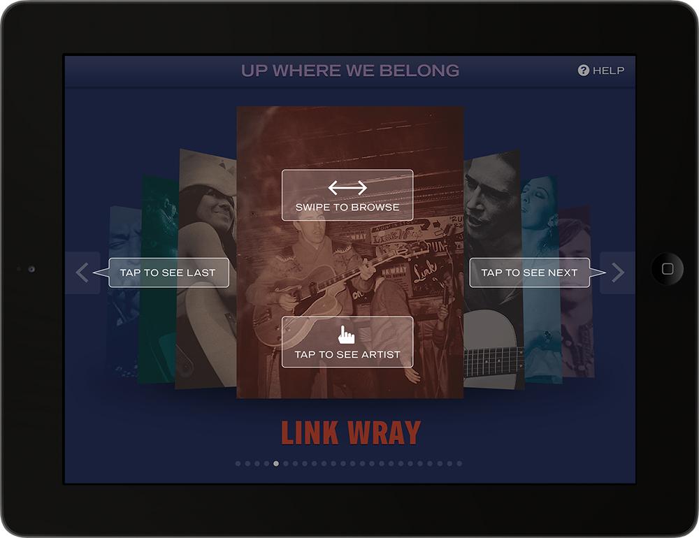 Attract Screen: Contextual Help