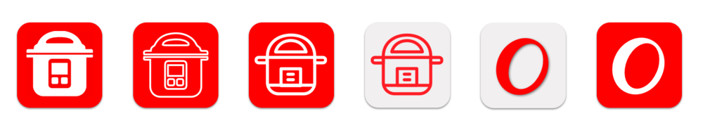 App Icon Design Explorations
