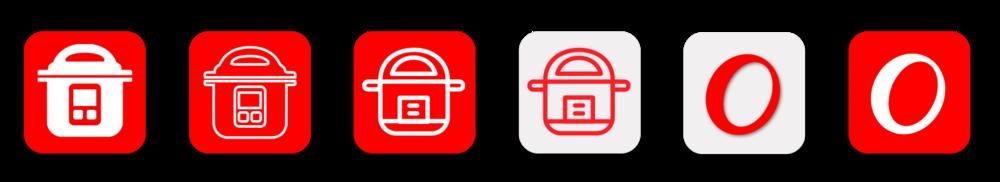 App Icon Design Explorations