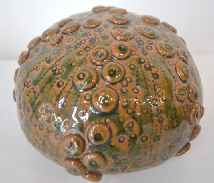 Medium Kina  Jocelyn Adolph, glazed & fired ceramic  $150.00
