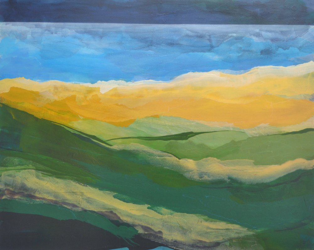 Vista Megan Daniels, oil on canvas, 1520mm x 1220mm  $3,500.00