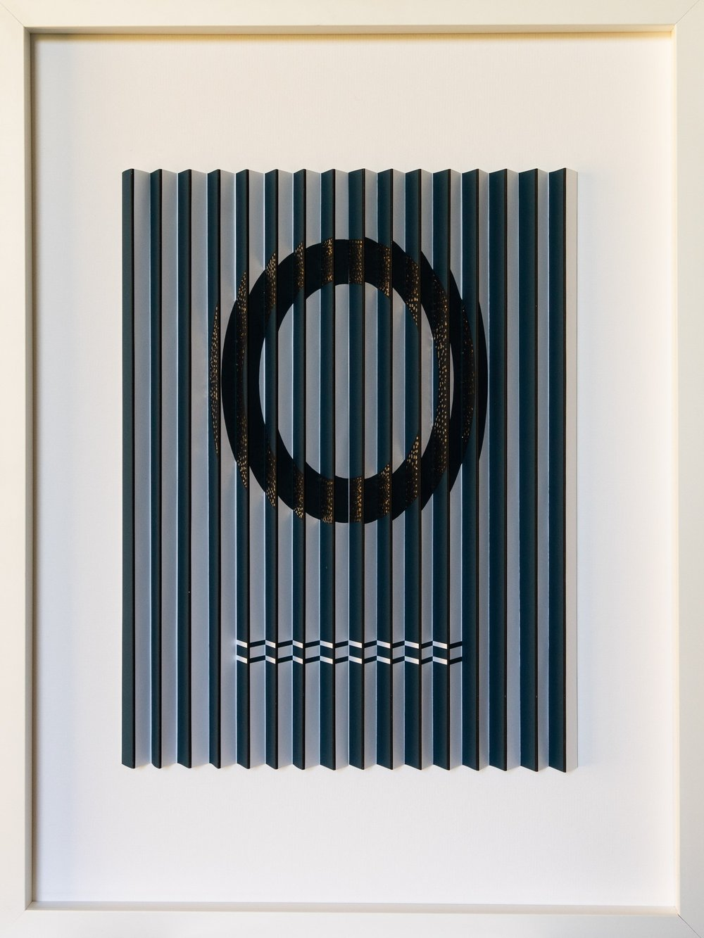 Golden Circle  Mark Cowden, limited edition multiplane work #9/10, 465mm x 608mm inc. frame  sold