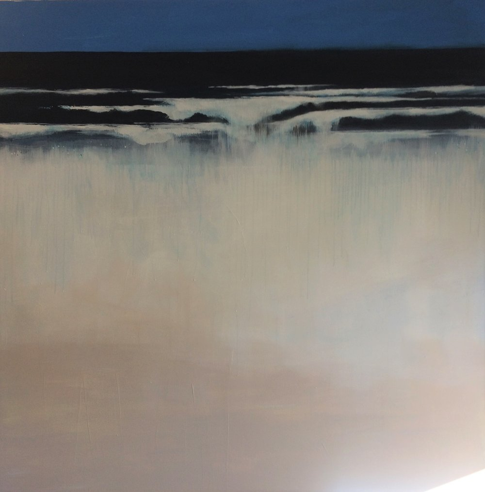 Golden Sands  Bill Harris, acrylic on canvas, 1215mm x 1215mm  $3,500.00