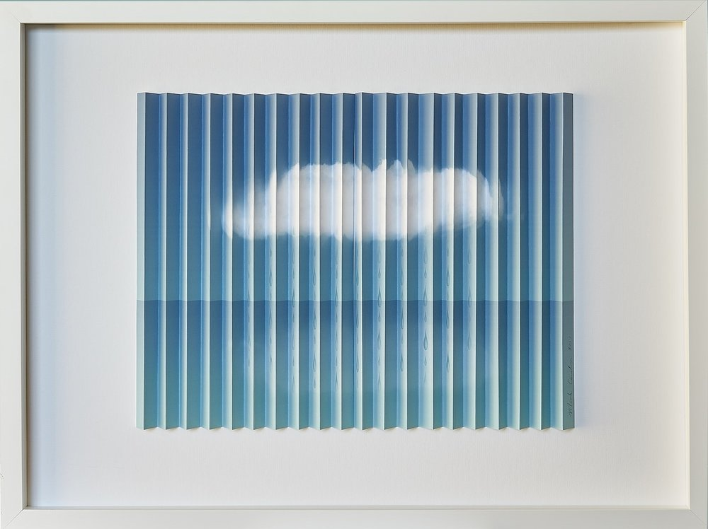 Look On The Bright Side  Mark Cowden, limited edition multiplane, #5/10, 640mm x 490mm inc. frame   $790.00