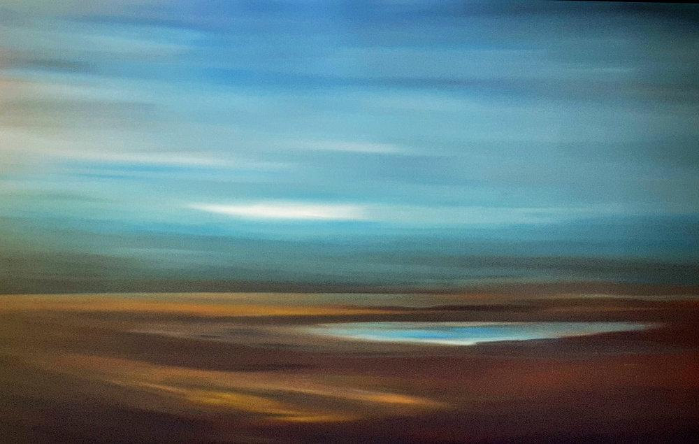 Summer Afternoon  Tut Blumental, acrylic on canvas, 1500mm x 1000mm  $3,450.00