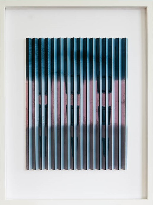 Abstract I  Mark Cowden, limited edition multiplane, 490mm x 460mm inc. frame   sold